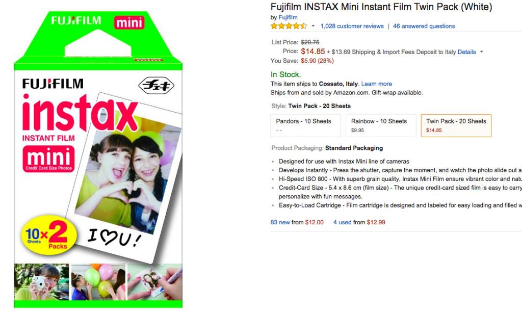 gadget fotografico più venduto su Amazon