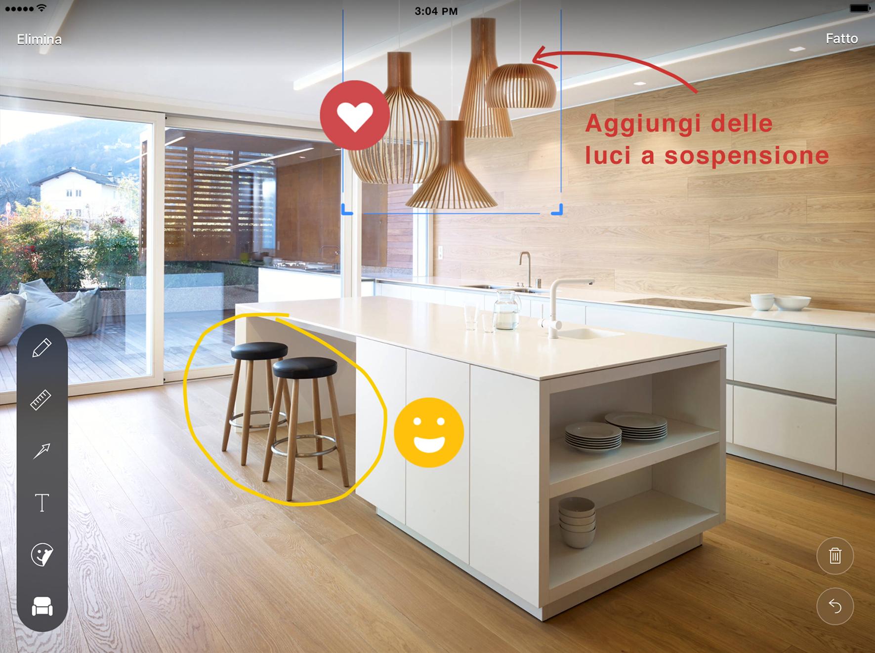Disegnare casa affordable software arredamento interni for App arredamento interni