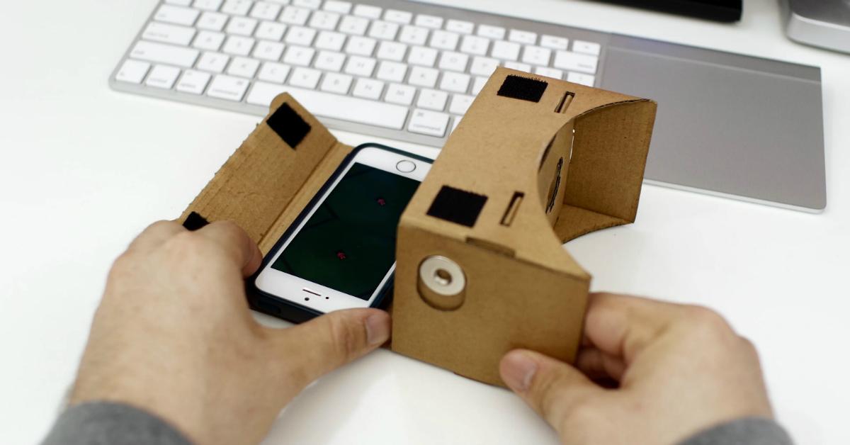iphone e google cardboard