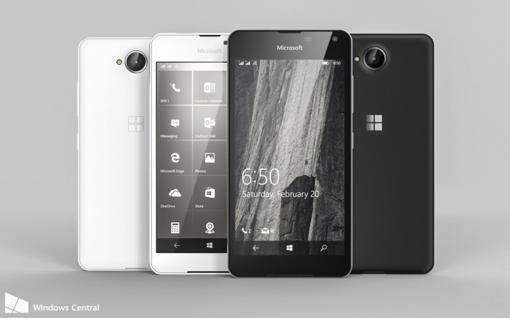smartphone lumia 650