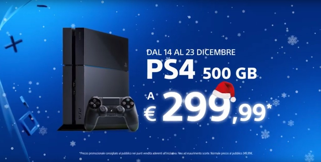 prezzo di Playstation 4