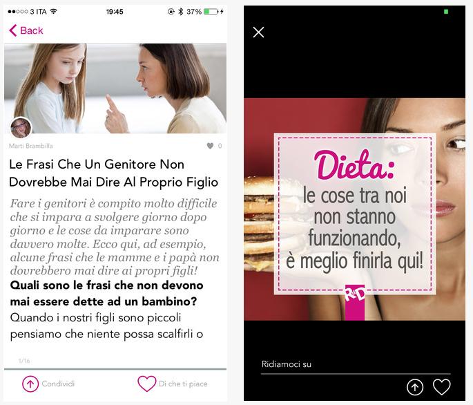 Roba da donne, social reader al femminile per iPhone ...