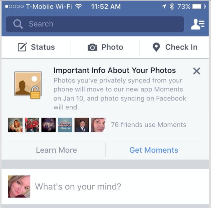 sincronizzare le foto su facebook