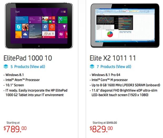 tablet Android a basso prezzo HP lascia
