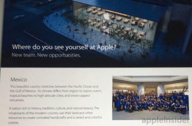 Apple Store in Messico