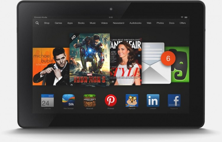 Recensione Kindle Fire 7
