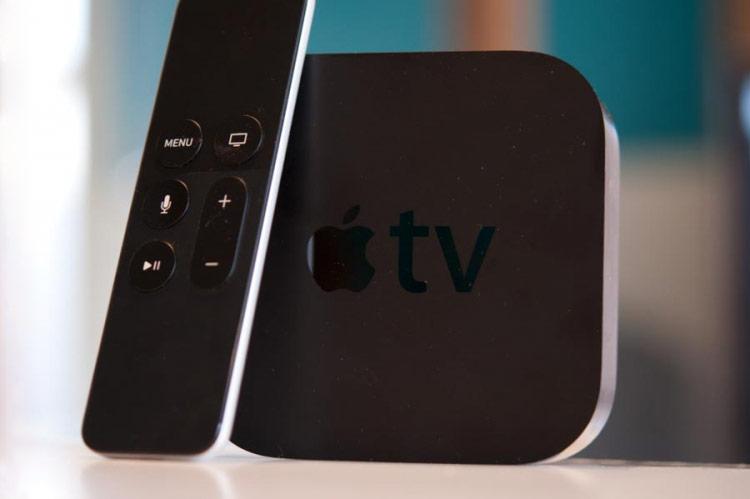 Apple TV si accende