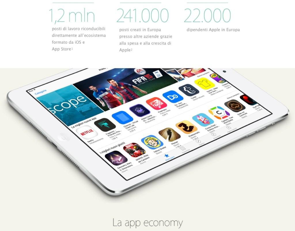 Apple apre in Italia il primo Centro di Sviluppo App
