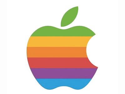 Apple logo colorato