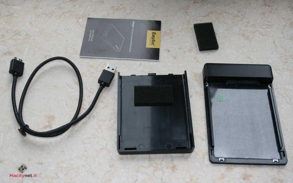 custodia USB 3.0 EasyAcc