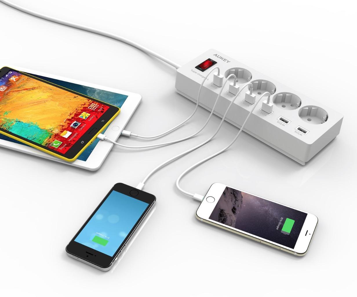 Aukey PA-S4 ciabatta elettrica 3