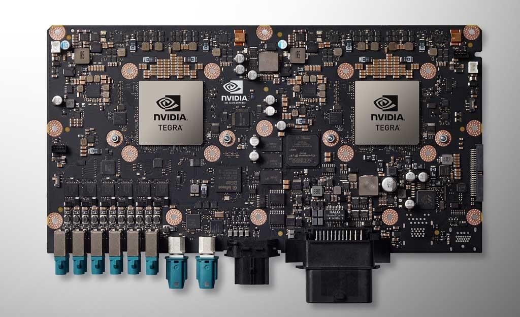 CES 2016 Nvidia Drive PX 2