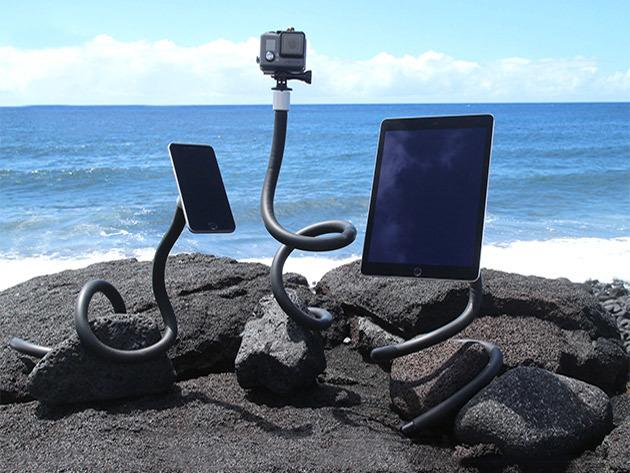 Dundabunga, braccio universale snodabile per smartphone, tablet e action camere a 49,99 dollari