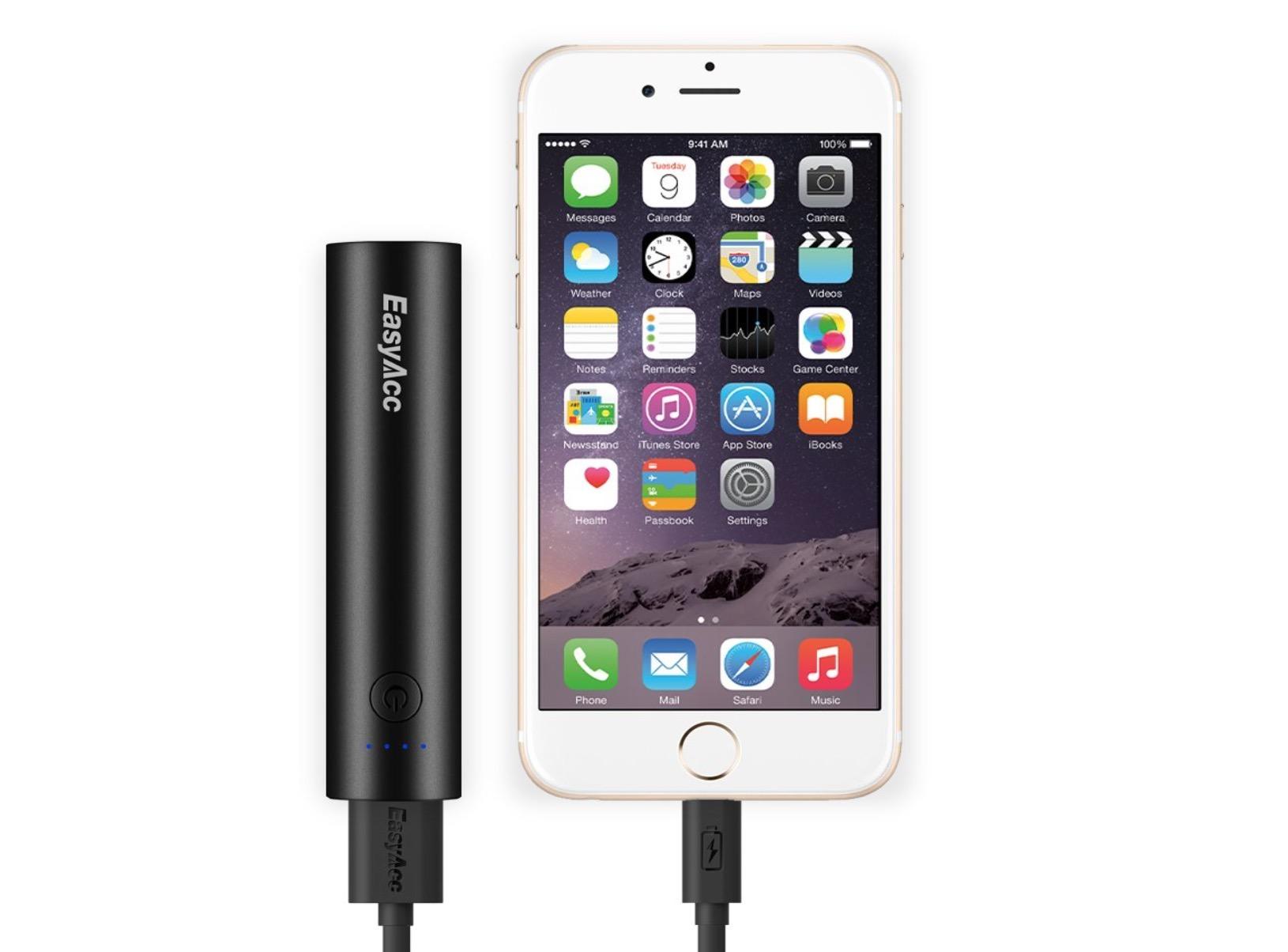 EasyAcc batteria tubetto 1