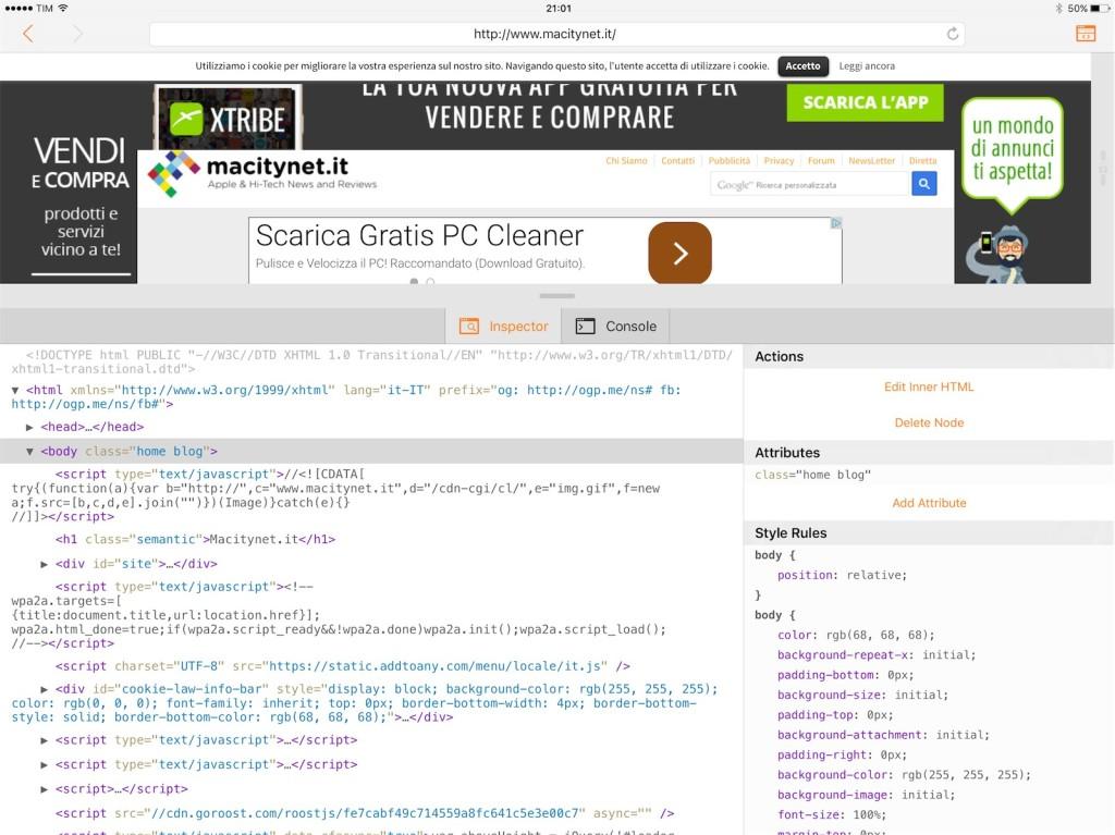 Ergo Web Tools 4