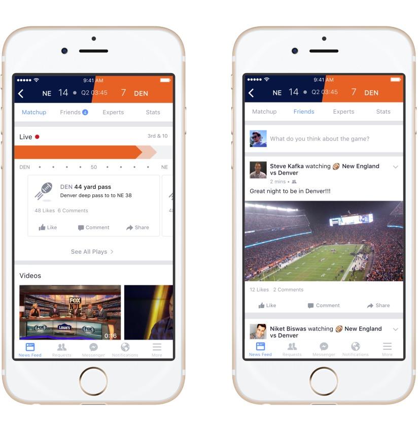 Facebook Sports Stadium