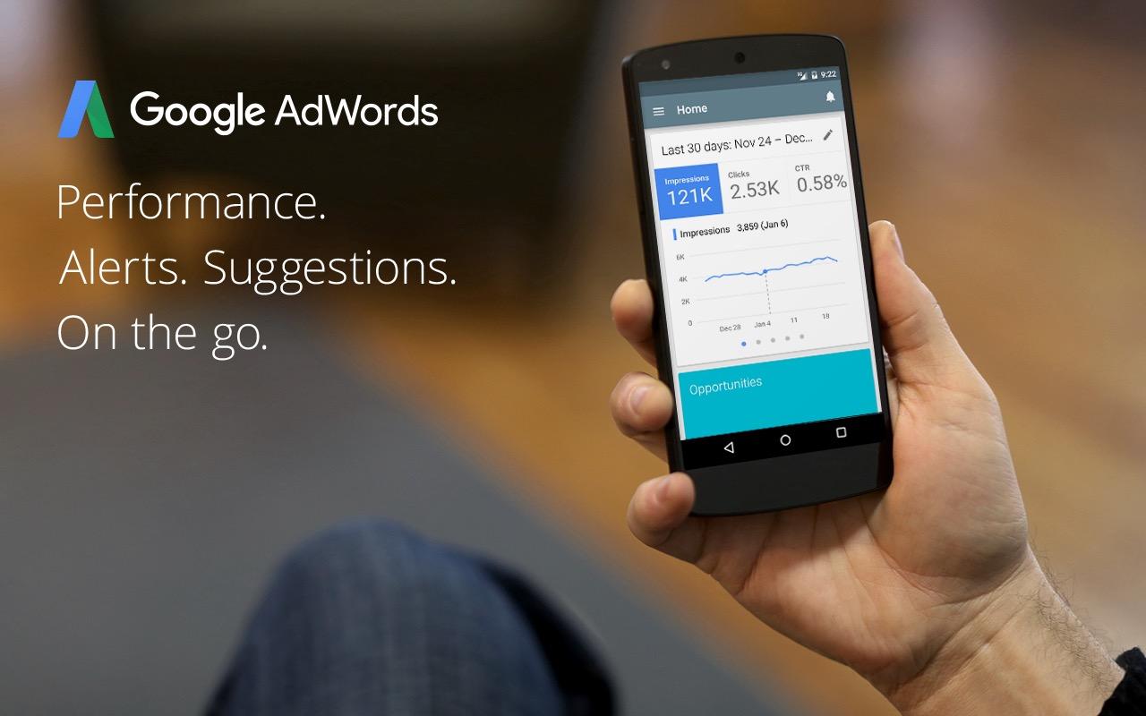 Google Adwords per iOS