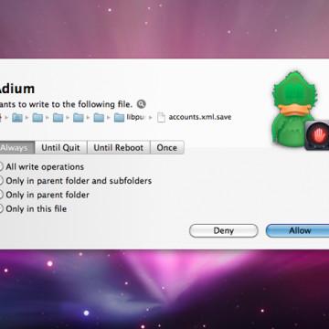 Hands Off per Mac