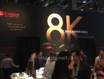 Al CES 2016 Canon entra nel video 8K con una spettacolare dimostrazione