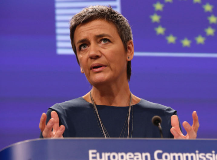 apple e panama papers Margrethe Vestager