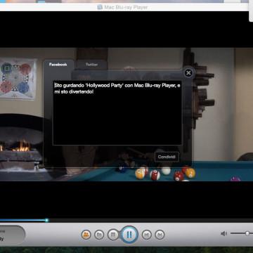 Un Blu-Ray riprodotto con Blu-Ray Player