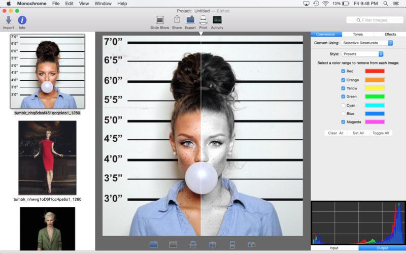 monochrome mac