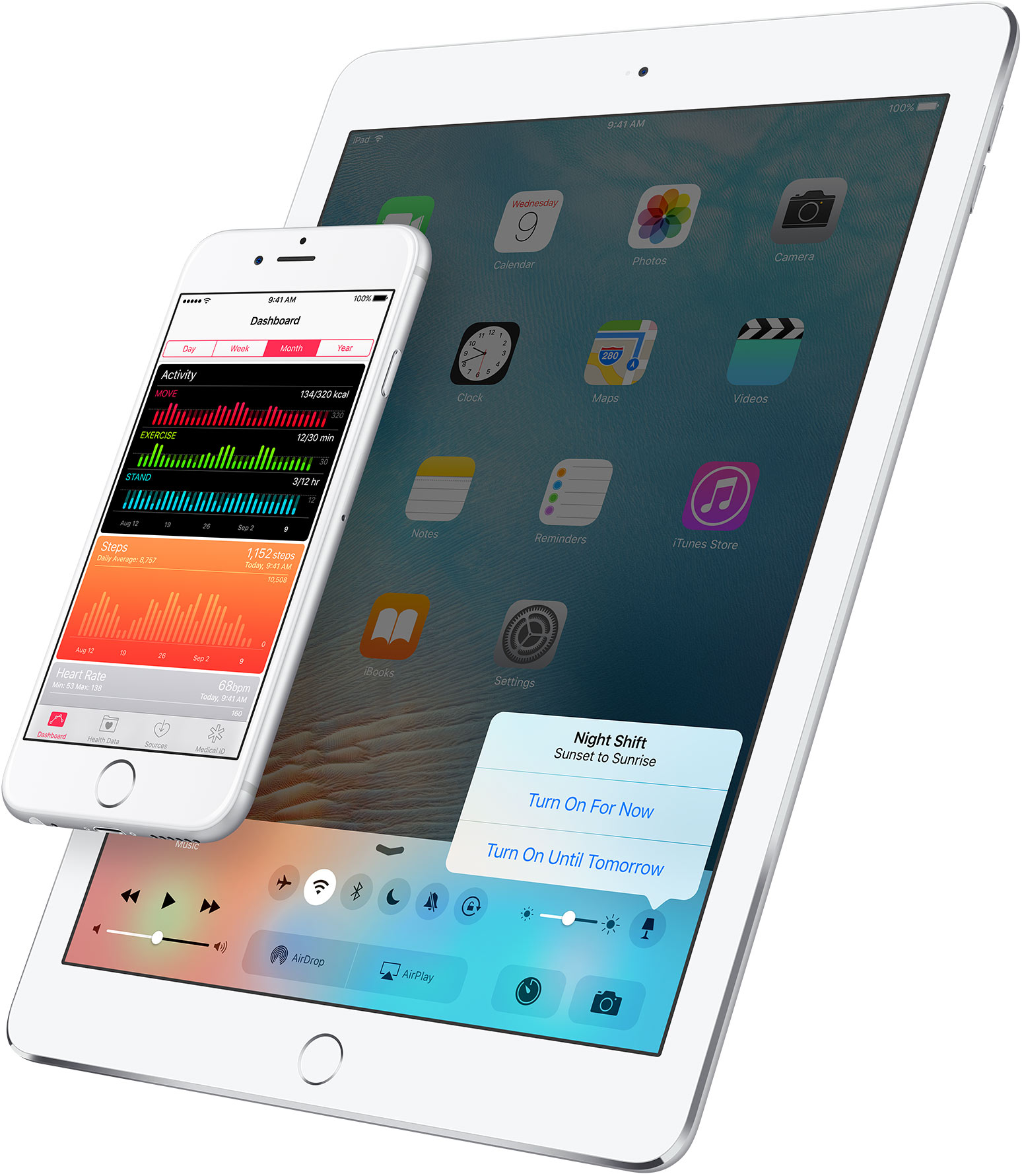 Modalità notturna iOS