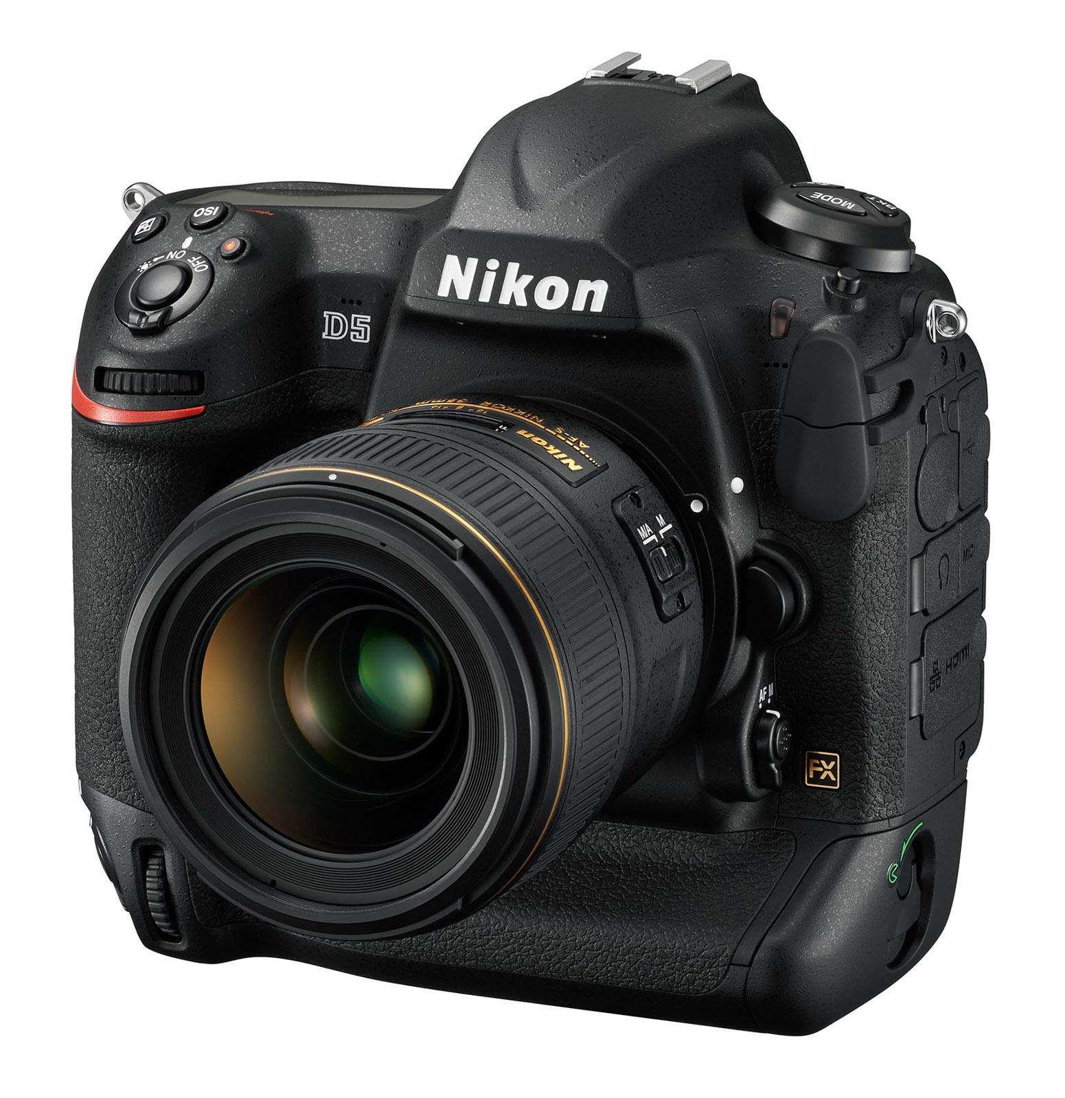 CES 2016 Nikon D5