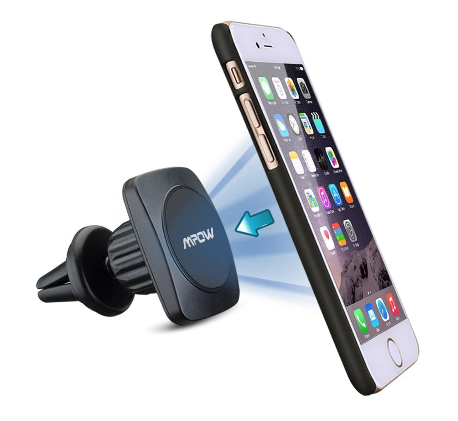 Supporto smartphone per auto con magnete e testa orientabile a 15,18 euro
