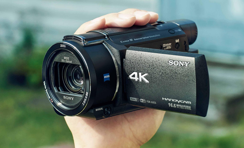 Al CES 2016 Sony Handycam, videocamera 4K per riprese fluide anche in corsa