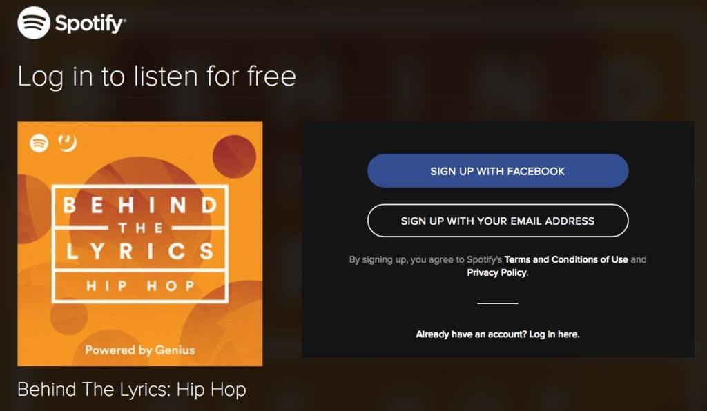 Spotify e Genius testi lyrics 1200