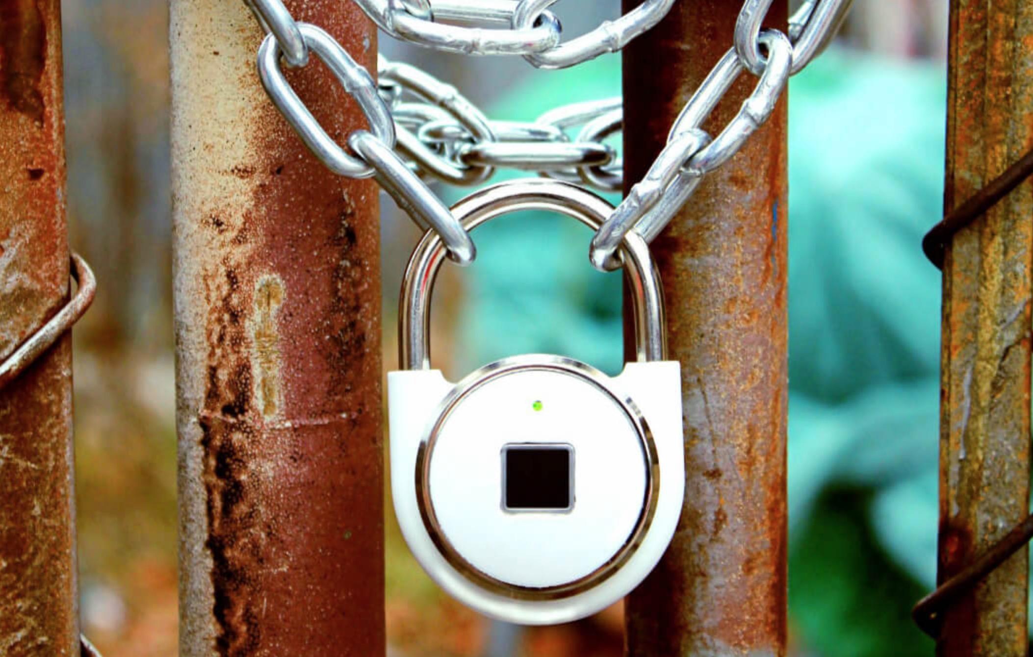 TappLock, il lucchetto che si sblocca con l'impronta digitale