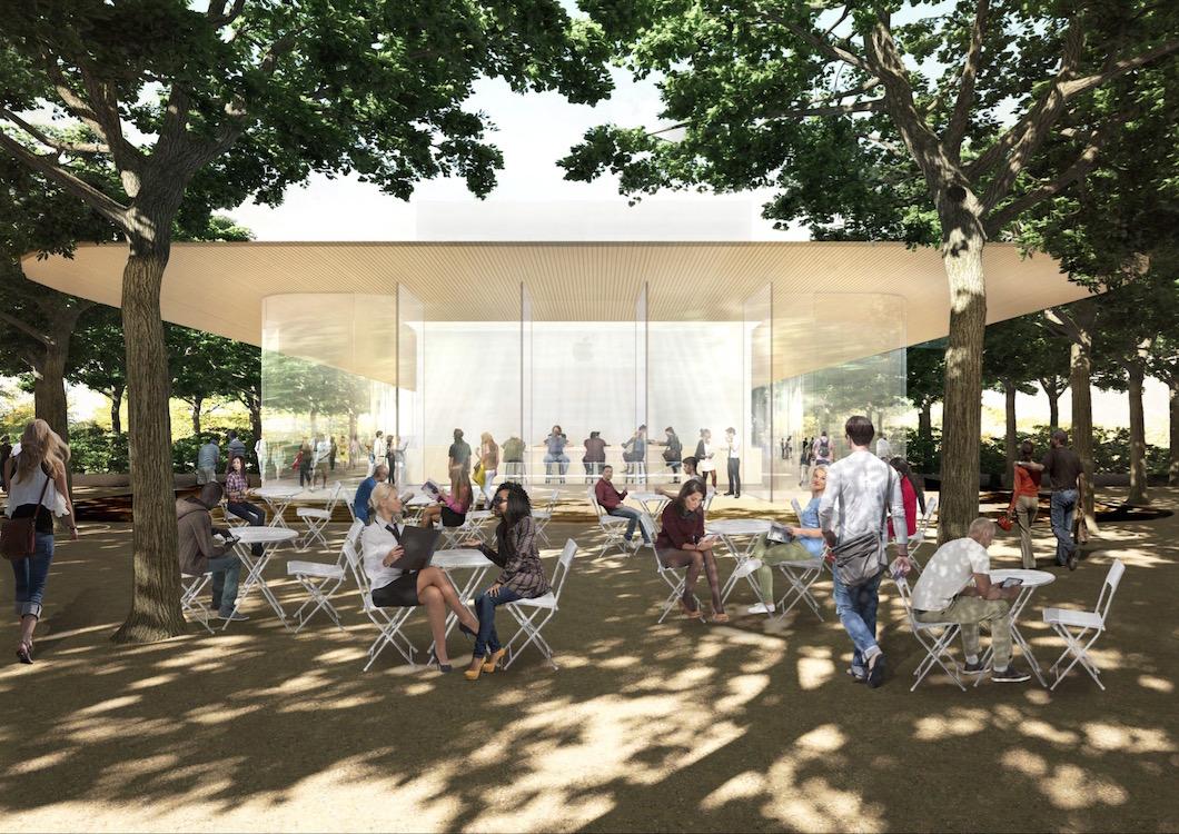 centro visitatori apple campus 2