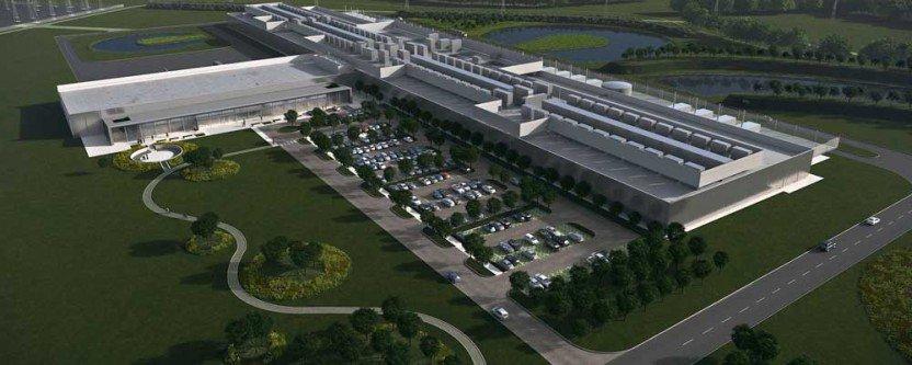 Rendering Data center di Clonee (Irlanda)