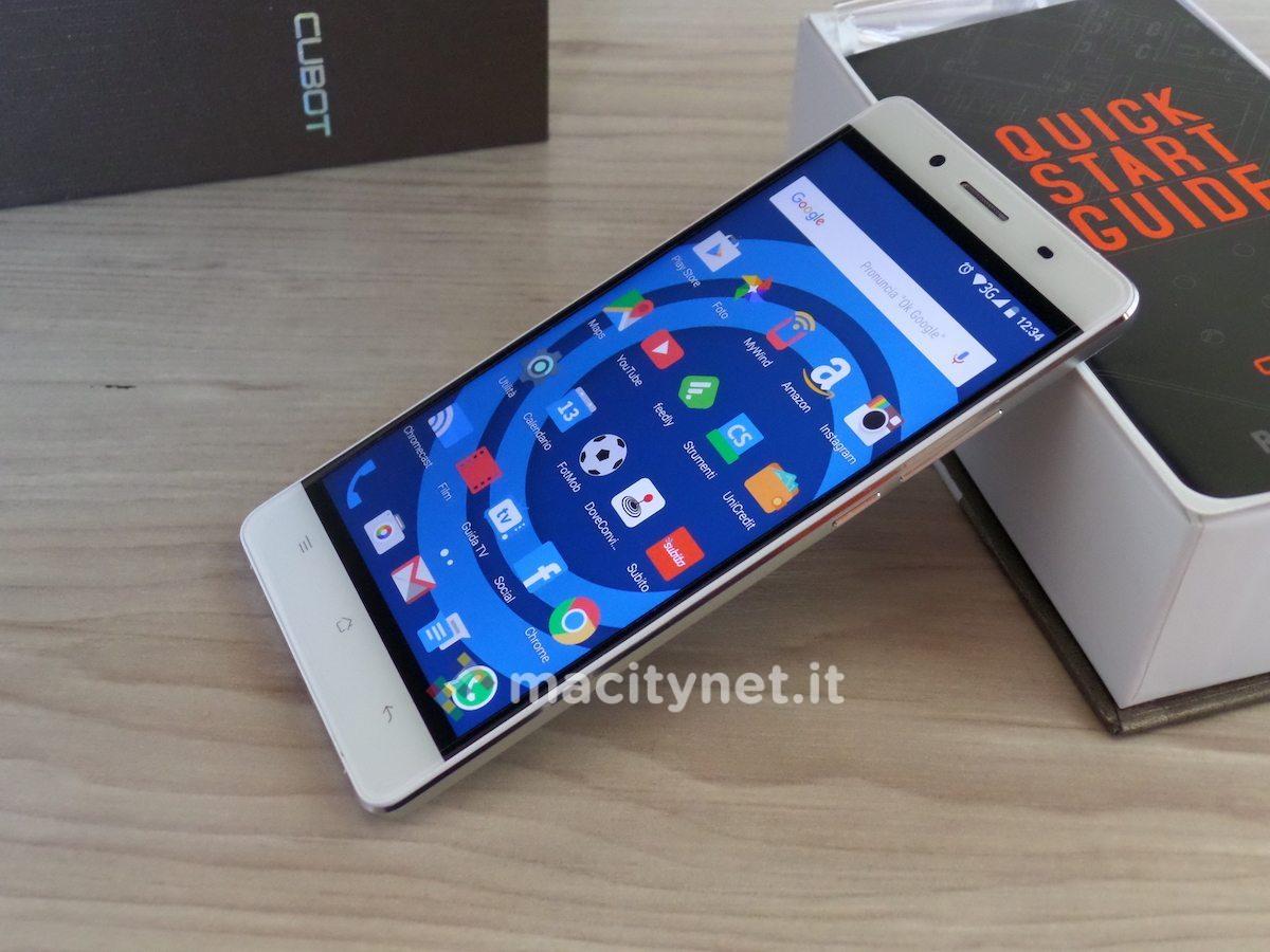 Cubot smartphone tutte le offerte cascare a fagiolo for Cellulari 150 euro