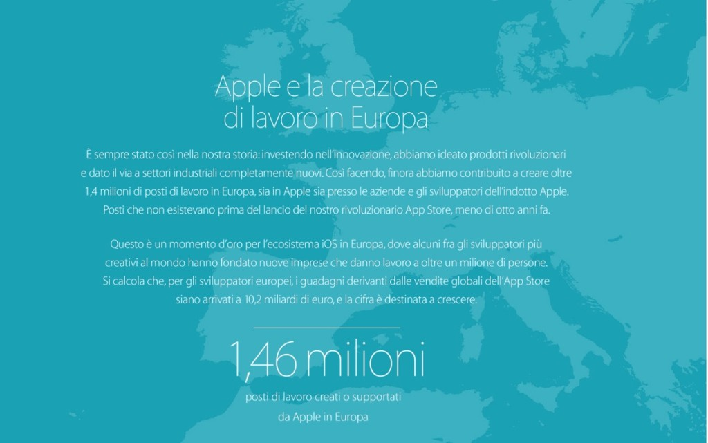 ecosistema apple europa