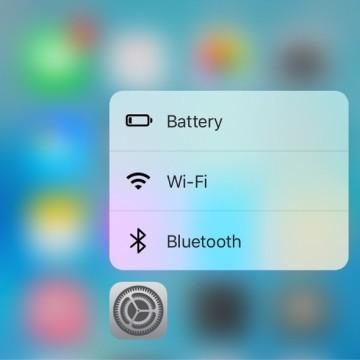 iOS 9.3 beta 2 3d touch