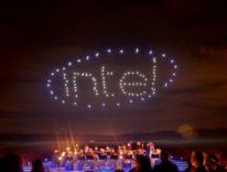Per il CEO di Intel in futuro i droni al posto dei fuochi d'artificio