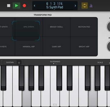 logic remote ipad 2