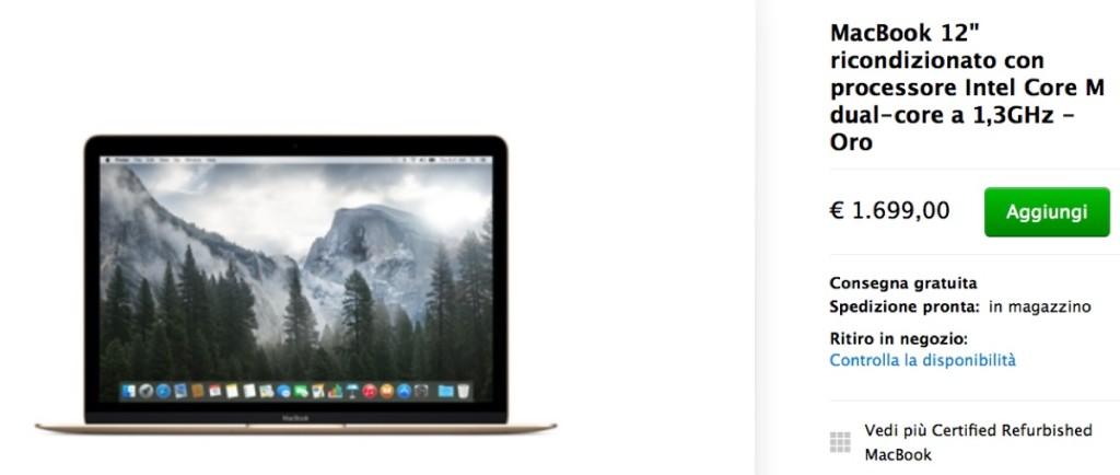 """macbook 12"""" scontato ricondizionati 2"""