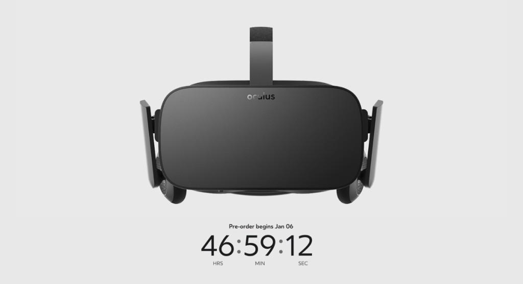 preordini Oculus Rift 1200
