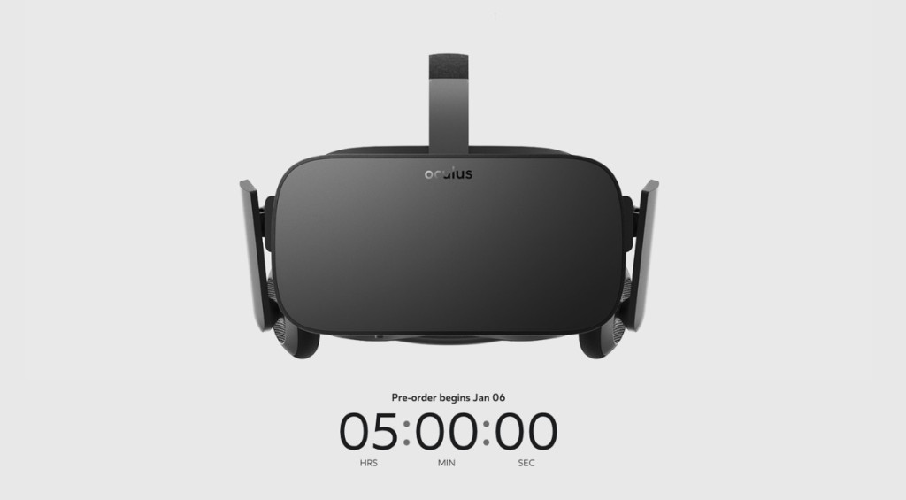 preordini Oculus Rift 1200 5 ore