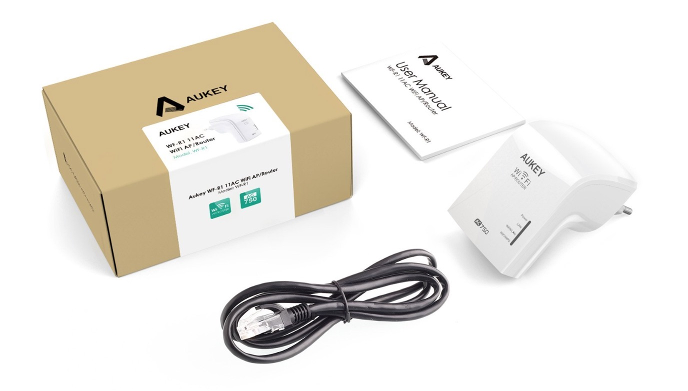 ripetitore wifi aukey 3