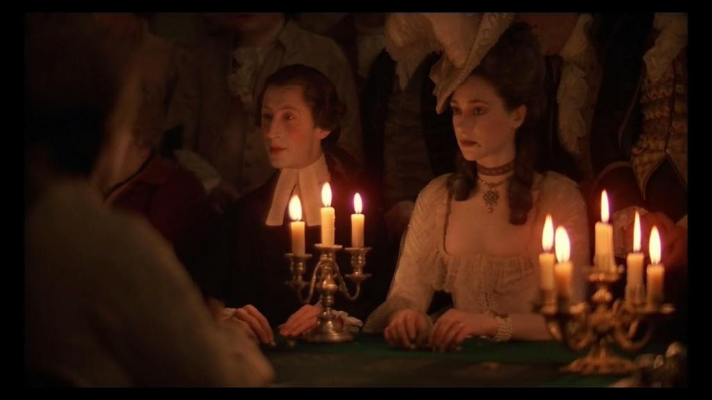 scena di barry lyndon a lume di candela