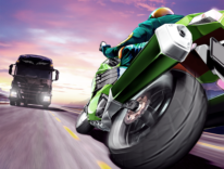 Con Traffic Rider spericolate corse su due ruote, gratis per iOS