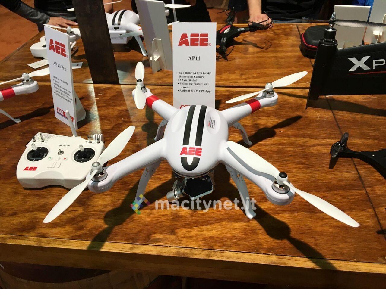 Al CES 2016 AEE prova a sfidare DJI con i nuovi droni AP12 e A20