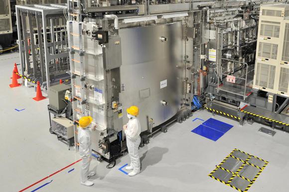 Impianto di produzione display Sharp a Kameyama