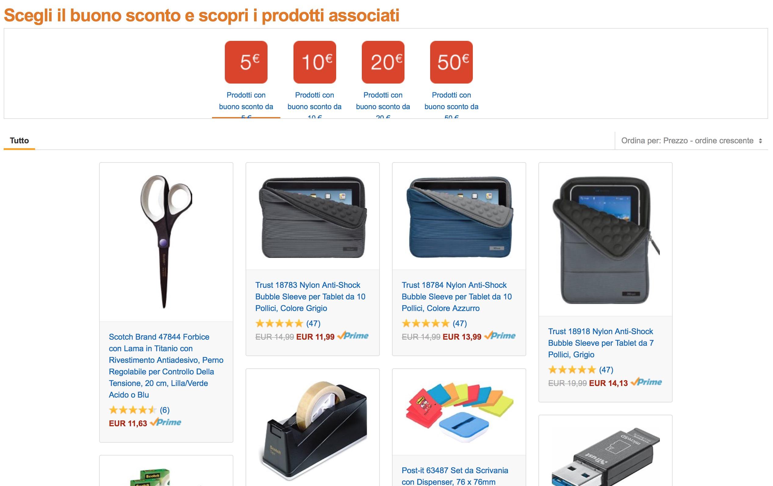 2016 in Ufficio con Amazon