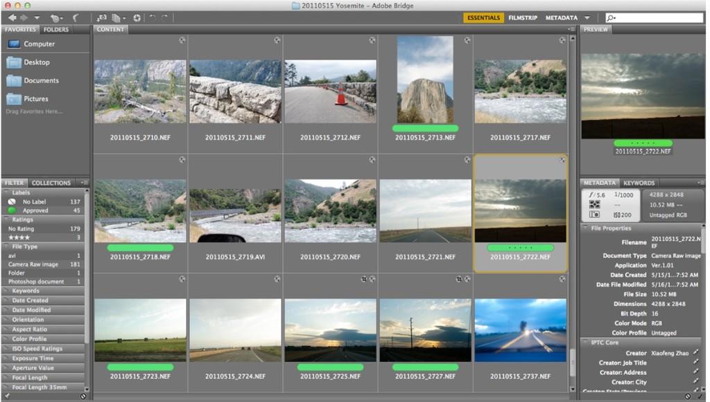 Adobe Bridge 6.2 1