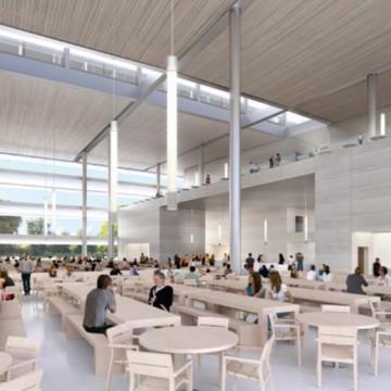 Il campus è progettato affinché si presenti illuminato e arioso